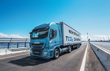 Iveco: ar gāzi darbināmi kravas automobiļi