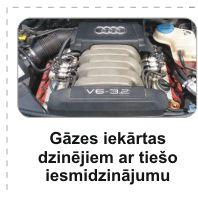auto gāze
