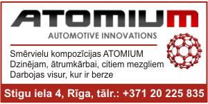 Atomium, revitalizācija, Атомиум, ревитализация